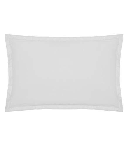 Funda de almohada Funda de almohada blanca 50 x 70