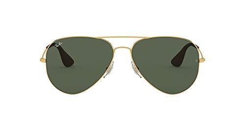 RayBan RB3558 Aviator Sunglasses Gold/Green 58 mm