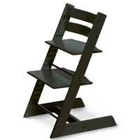 Stokke 100103 - Kinderstuhl / Hochstuhl Tripp Trapp, schwarz