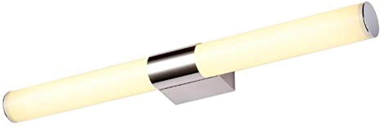 LZMXJD Badezimmerspiegel Scheinwerfer 10W   14W Edelstahl LED Acryl Frontspiegel Licht Kabinett Licht Wasserdicht Licht Moderne Wand-Wandleuchte Wei (Farbe Temperature   Wei, gre   46cm)
