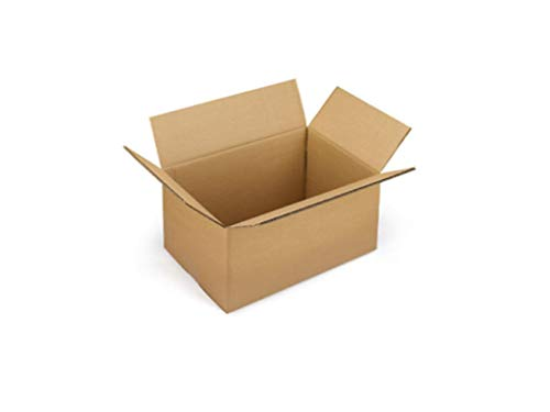 25 cajas de cartón de 50 x 30 x 30 cm. Embalaje de cartón mono, para envío/almacenamiento/mudanza. Caja Habana neutra