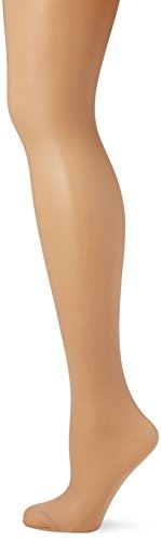 Fiore Umstandsstrumpfhose MAMA 40 den/BODYCARE Cuisses, Marron (Light Natural 086), Small Femme