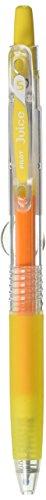 Pilot Juice 0.5mm Gel Ink Ballpoint Pen, Yellow (LJU-10EFF-Y)