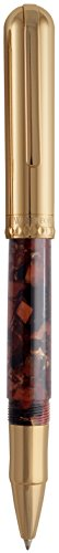 Waterford Resin Rollerball Pen, Tortoise And Gold (WF 563 TSG)