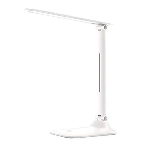 lámpara de mesita de noche Escritorio LED lámpara de lectura Protección de los ojos lámpara de escritorio compartida de aprendizaje Touch Control plug-in de noche lámpara de mesa de tres niveles de br