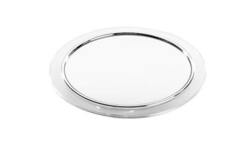 Spiegel mit Saugnäpfen und 7-fach Vergrößerung Durchmesser 19 cm. Für glatten Flächen wie z.B Glasflächen, Fliesen etc.
