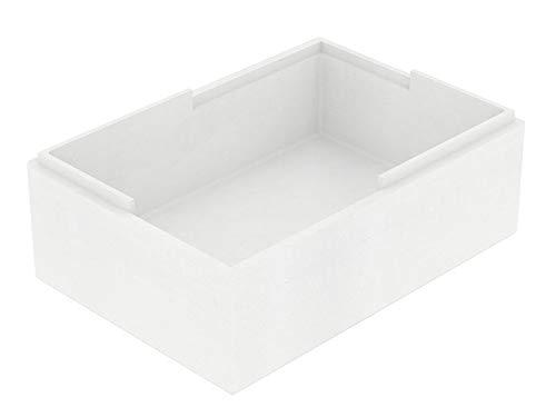 Pack DE 12 Cajas con Tapa POREX de 16,25 Litros. Caja Aislante, Térmica