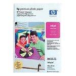 HP Premium Foto, seidenmatt plus Abreißstreifen Papier 100x150mm 20Blatt 240g/m² DeskJet 8xx/9xx PhotoSmart