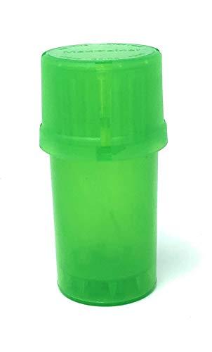 MedTainer Contenitore con macinino incorporato, colore: verde