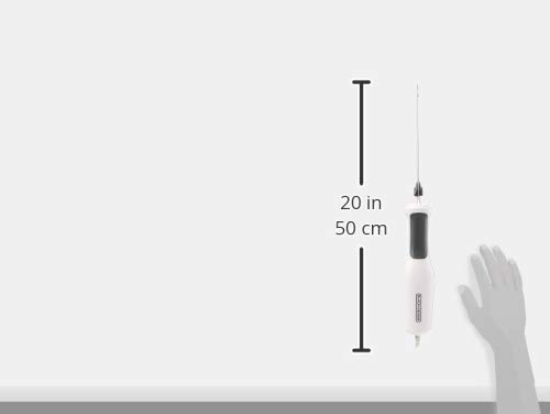 Spectrum ComfortGrip Electric Knife, 9 inch, White