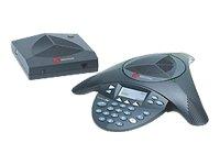 POLYCOM SoundStation 2W EX - Schnurloses Konferenztelefon mit Anruferkennung - DECT (Nordeuropäische Version)
