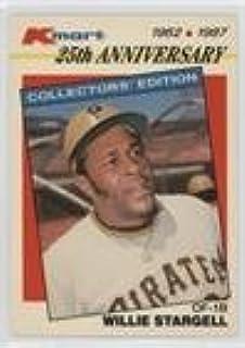 Amazoncom Willie Stargell Baseball Card 1987 Topps Kmart