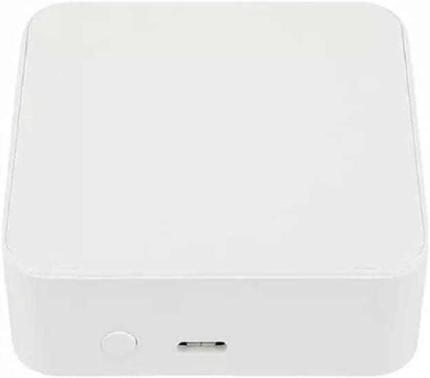 MHCOZY Tuya Smart Home ZigBee GateWay Hub App Mando a distancia inalámbrico para dispositivos ZigBee mediante Smart Life compatible con Alexa Google Home