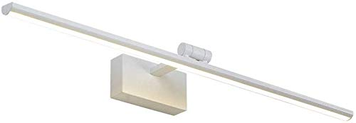 Carl Artbay Shuai Beautiful Lamp * Eenvoudige moderne LED Bathroom Make-up licht waterdicht anti-condens wandlamp met spiegel van de regelaar (kleur: Neutraal Light-40cm)