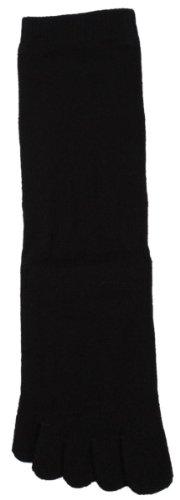 Toe Toe Des chaussettes doigts classiques noires