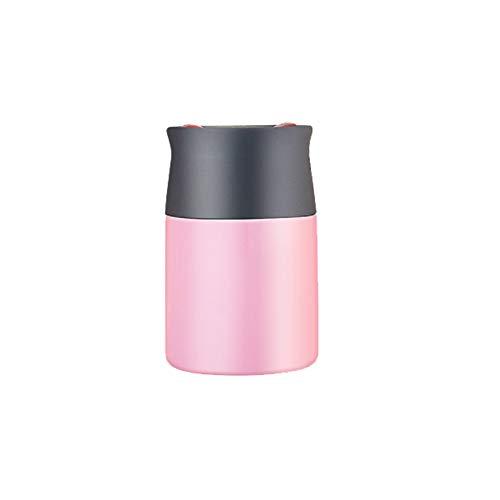 YHDQ beker, grote capaciteit draagbare pap vat, baby baby uit de lange isolatie, voedsel kwaliteit PP roestvrij staal, pap met een blikje rijst stijlnaam size roze