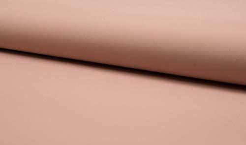 Stoff für Regenjacken, wasserabweisend in Rosa als Meterware zum Nähen von Erwachsenen, Kinder- und Baby Kleidung, 50 cm