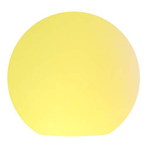 Lampade Lampade da Terra Lampada da Terra da Giardino a Forma di Giardino da Esterno a Luce Impermeabile da Giardino a Luce Rotonda a Forma di Prato Lampada a Stelo (Dimensione : 25cm)