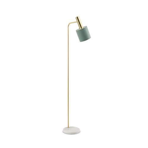 NO BRAND Nordic Simple ijzeren lamp woonkamer slaapkamer Studio leeslamp moderne verlichting verticale tafellamp met marmeren voet M20-02-04