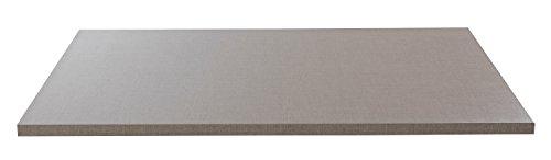 Einlegeboden Regalboden Fachbrett | Hellgrau | 66x48 cm