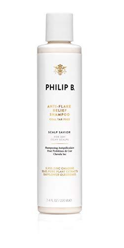PHILIP B Anti-Flake Relief Shampoo, Coal Tar-Free, 7.4 Fl Oz