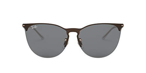 Ray-Ban 0RB3652 Gafas de sol, Rubber Copper, 40 Unisex