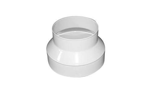 Weedness Rohrlüfter Anschluss-Reduzierstück 100 mm / 125 mm PVC - Abluftschlauch Schlauch Klimaschlauch Indoor Anbau Growbox Homebox Lüftungsschlauch