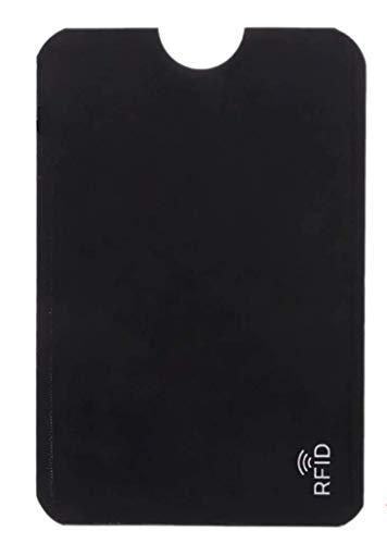 2 Stück RFID & NFC Schutzhüllen für Kreditkarten, EC Karte, Personalausweis, Bankkarte - 100% Kreditkartenhüllen RFID Blocker gegen unerlaubtes Datenauslesen und illegales Geldabheben
