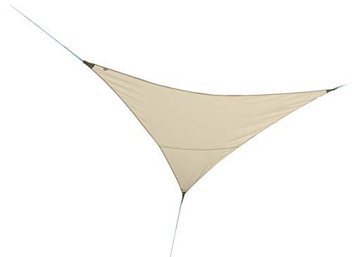 KitGarden - Toldo Vela Sombra Triangular, 3,6x3,6m, Beige, COVERSUN 3,6T BG