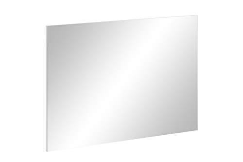Schildmeyer 148104 Spiegelelement, weiß, 99,5 x 3 x 69,5 cm