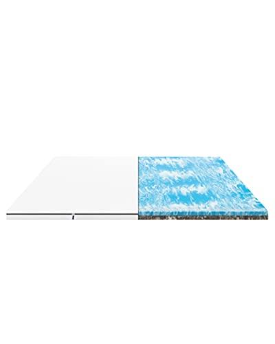 EMMA Matratzen Topper 180x200 - Memory Schaum atmungsaktiv - 2in1 wendbar weiche und Harte Seite - 100 Nächte Probeschlafen - für Matratzen und Boxspringbetten