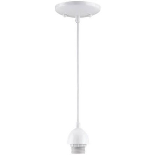Westinghouse Lighting White 7028600 Single-Light Mini-Pendant Kit Finish