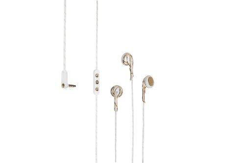 Frends Ella G/W Headphone Accessory, Gold and White