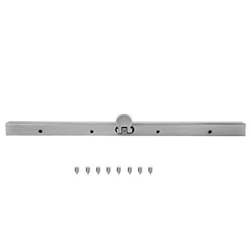 19 cm metalen portemonnee frame recht kanaal portemonnee frame voor DIY portemonnee maken benodigdheden ZILVER