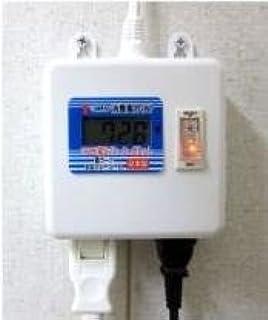 消費電力メーター付 2個口テーブルタップ 安心の国内製造品 JH-M502 W