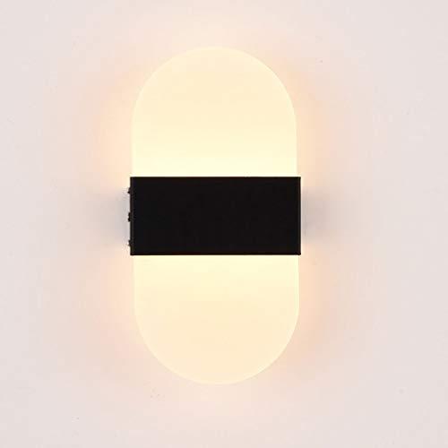 DYXYH Lámpara de Pared LED Moderno Dormitorio de Noche luz de la decoración Apliques de la Pared for el hogar Escaleras Loft de luz LED de la decoración Interior
