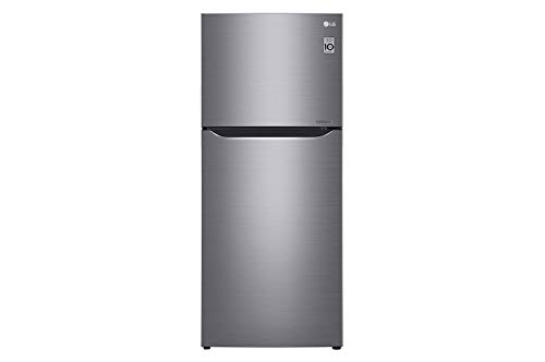 LG GTB583PZCZD Frigorifero Doppia Porta Total No Frost con Congelatore, 393 L, Tecnologia Multi Air Flow - Frigo con Freezer, Wi-Fi e Display LED Interno