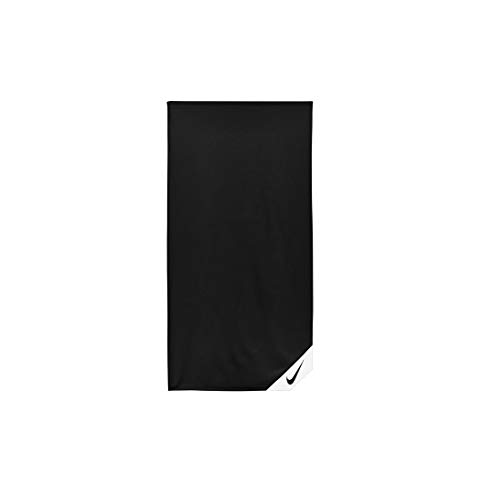 Nike Unisex– Erwachsene Cooling SMALL Towel Handtuch, Black/White, NS