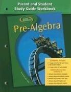 Pre-Algebra, Parent and Student Study Guide Workbook