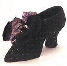 Fete Miniature Shoe - Ebony Hobnail
