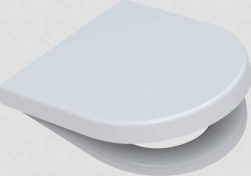 WC Sitz mit Deckel Klodeckel Absenkautomatik passend zum Duravit Starck 2
