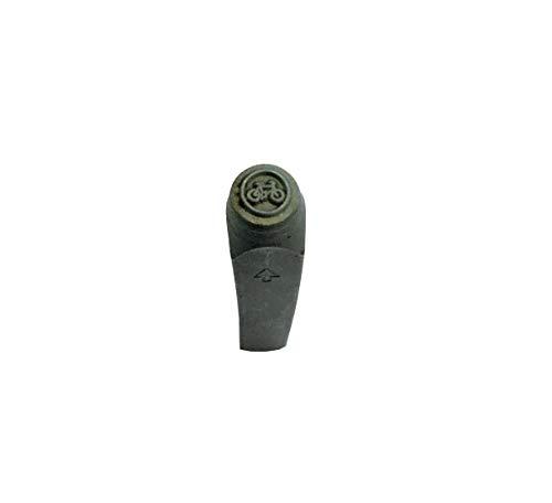 Proops No Cycling Road Schild, Metallstempel, für Schmuckherstellung, Metall, Stempel Hochwertiges Produkt, 6mm (M9332)