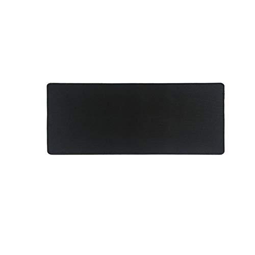 Duradero Negro Puro Grande ratón ratón Alfombrilla de ratón Colorido Felpudo Teclado Teclado Tablero Table Portero Puerta Escritorio Portero para Cuaderno portátil Jugador Gamer Mousepad Hermoso