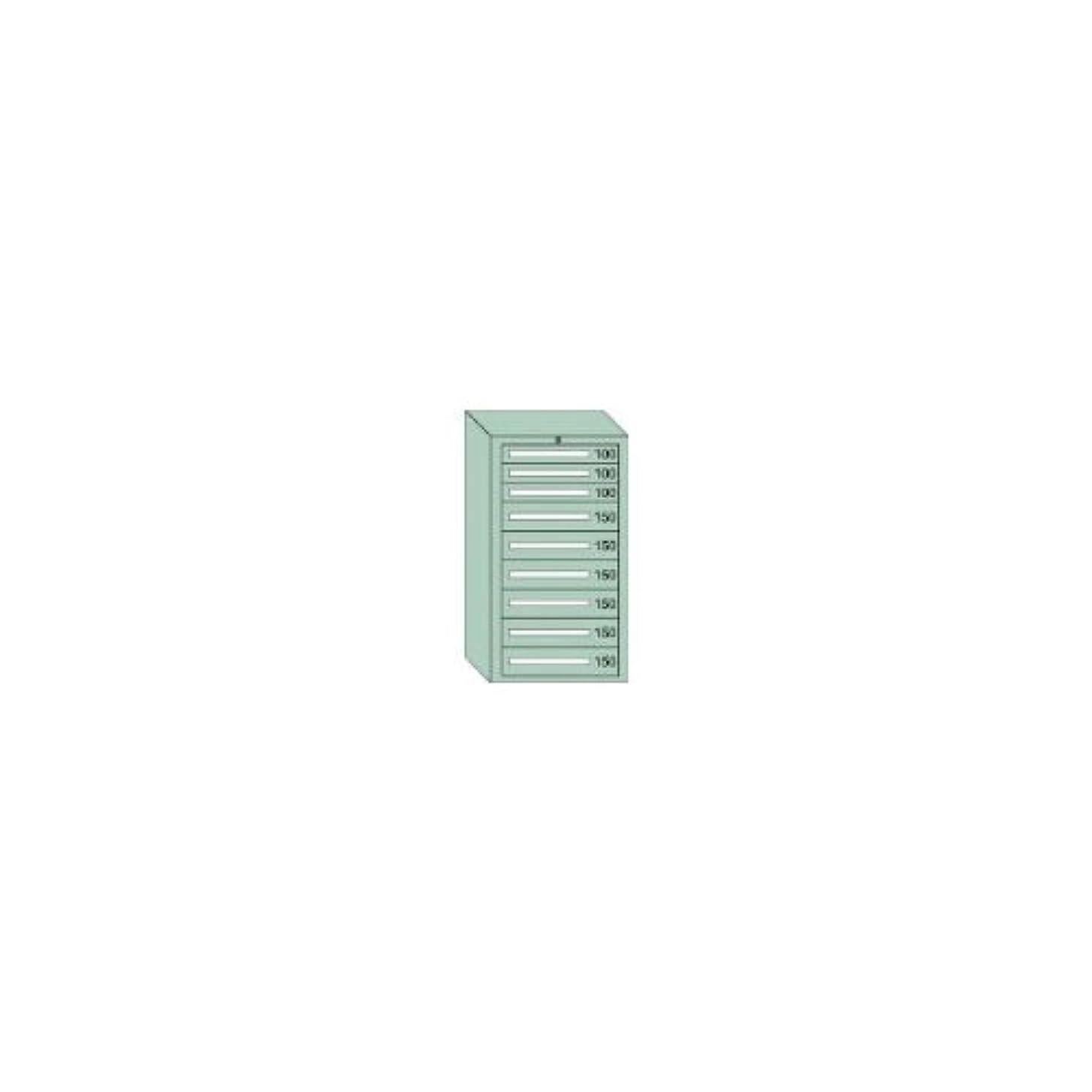 現像ライブ建設OS 中量キャビネット7型 最大積載量1200kg 引出し3×6段【71207】 (販売単位:1台)