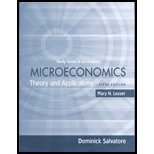 Microeconomics: Theory and Appl. Study Guide 5TH EDITION