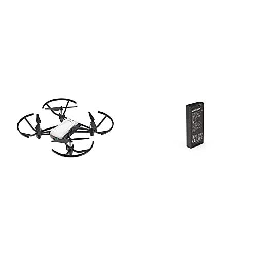 Dji Ryze Tello Mini Drone Ottimo Per Creare Video Con Ez Shots, Occhiali Vr E Compatibilità Con Controller & Tello Batteria Di Volo Per Mini Drone Con Porta Usb, Ricaricabile Agli Ioni Di Litio