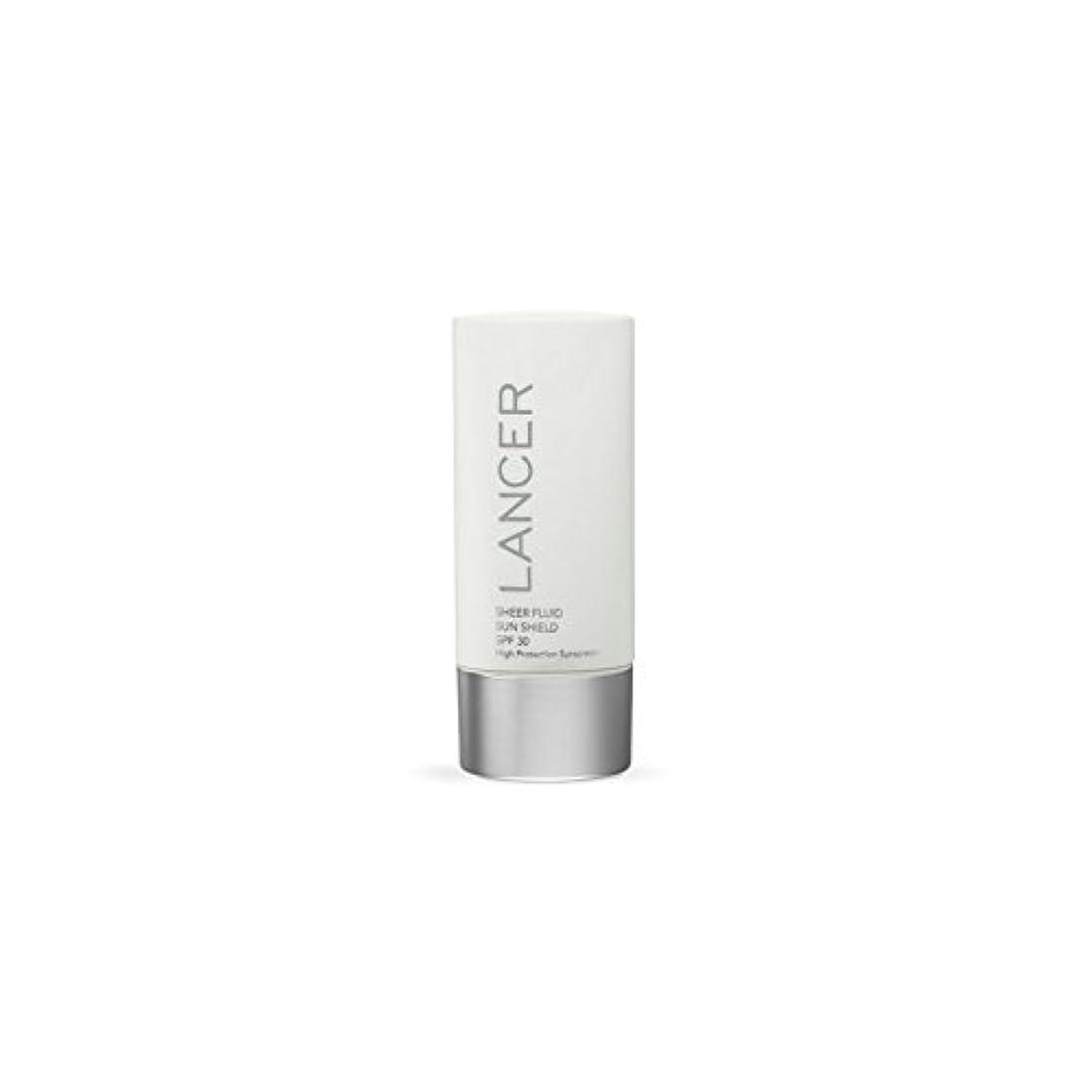わざわざとても多くの祈るLancer Skincare Sheer Fluid Sun Shield Spf 30 (60ml) (Pack of 6) - ランサースキンケア切り立った流体サンシールド 30(60ミリリットル) x6 [並行輸入品]