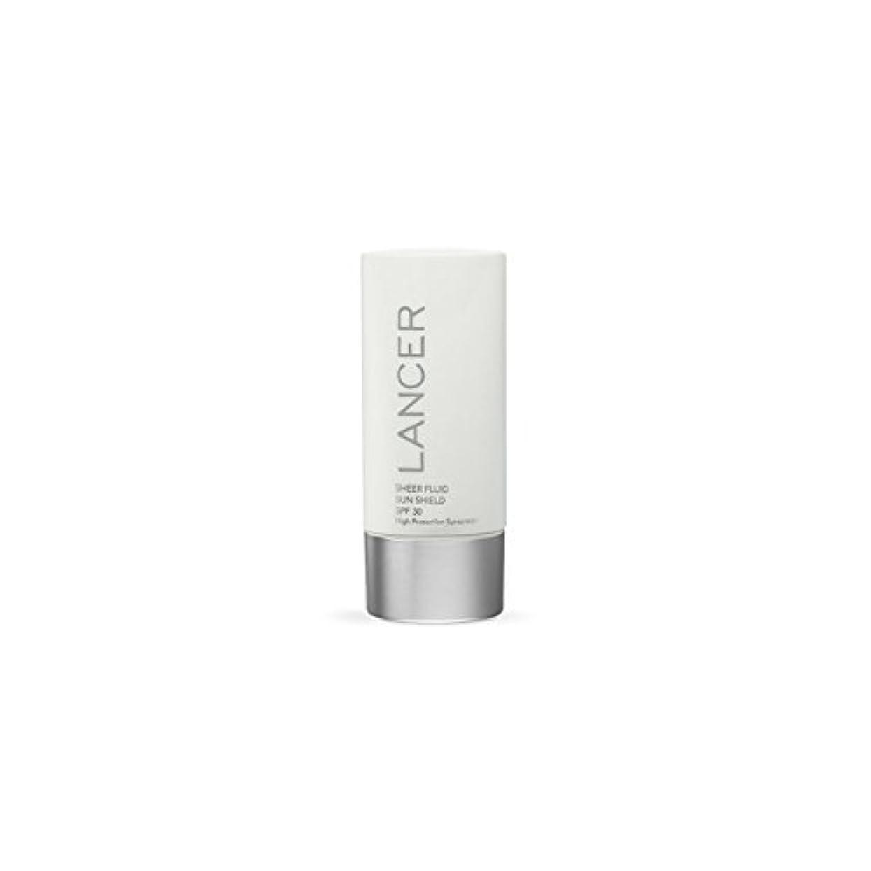 コピーチャート批判的Lancer Skincare Sheer Fluid Sun Shield Spf 30 (60ml) - ランサースキンケア切り立った流体サンシールド 30(60ミリリットル) [並行輸入品]