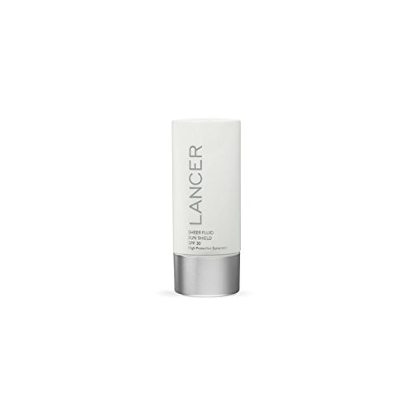 説得小間半ばLancer Skincare Sheer Fluid Sun Shield Spf 30 (60ml) - ランサースキンケア切り立った流体サンシールド 30(60ミリリットル) [並行輸入品]