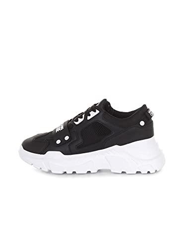 VERSACE JEANS COUTURE 71YA3SC4 71604 Sneakers Basse Uomo Nero 44